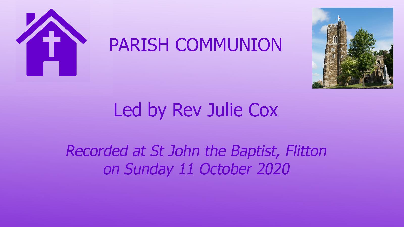 Parish Communion, Flitton