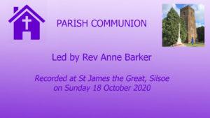 Parish Communion From Silsoe