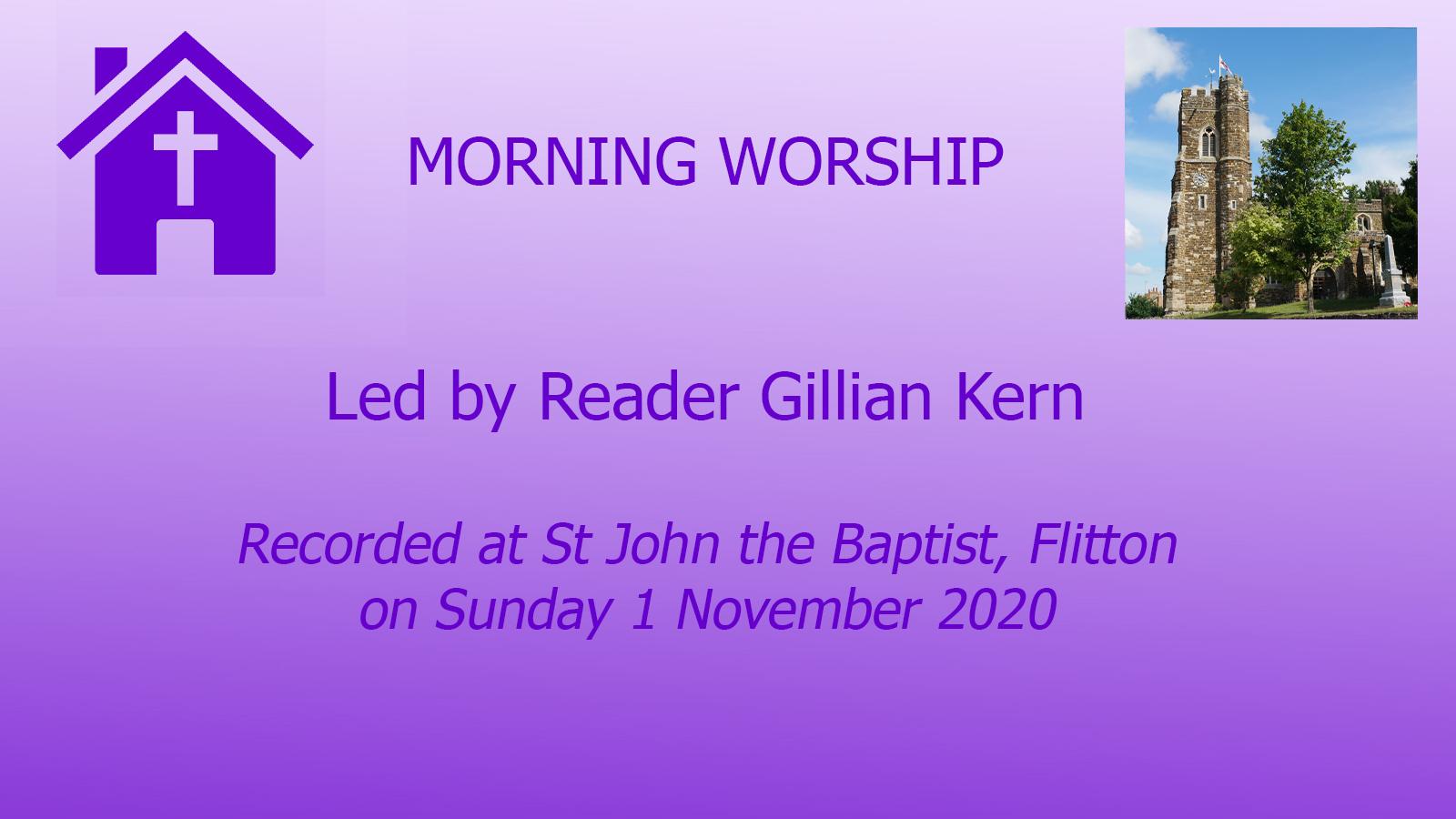 Morning Prayers from Flitton