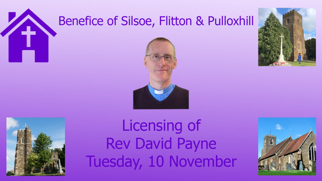 Licensing of David Payne