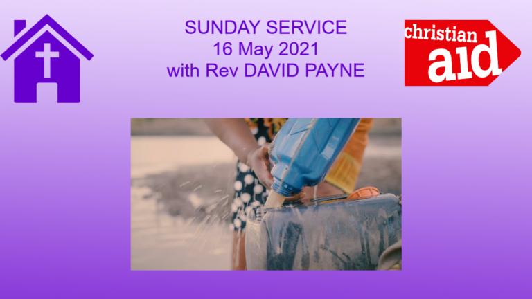 Christian Aid Sunday Service