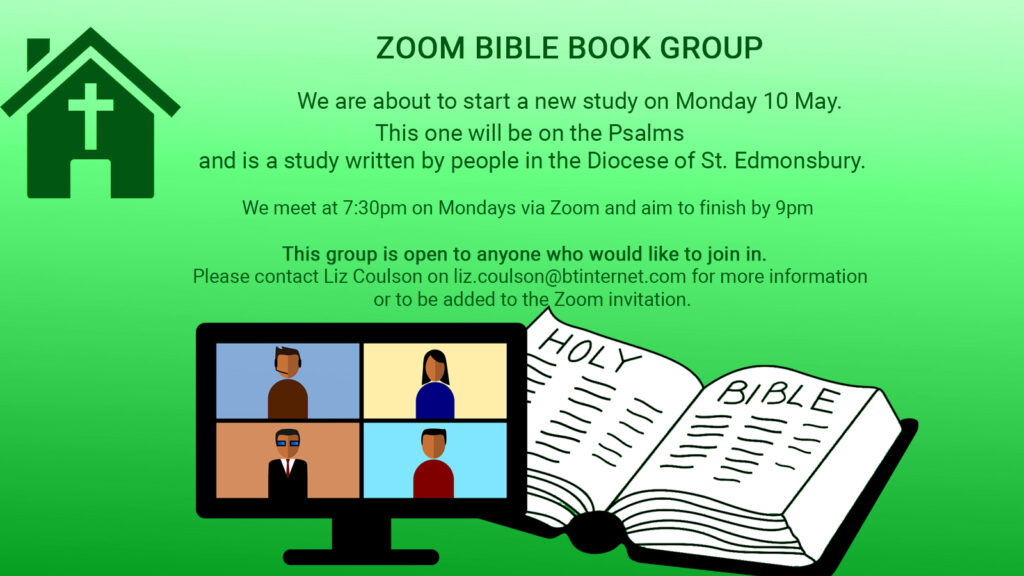 May 2021 Bible Book Group
