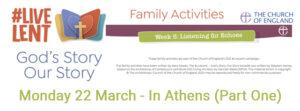 LiveLent - In Athens Part 1