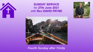 27 06 21 Sunday Service
