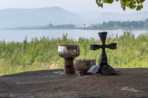 Communion by Sea of Galilee