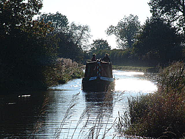 Travelling on the Canal