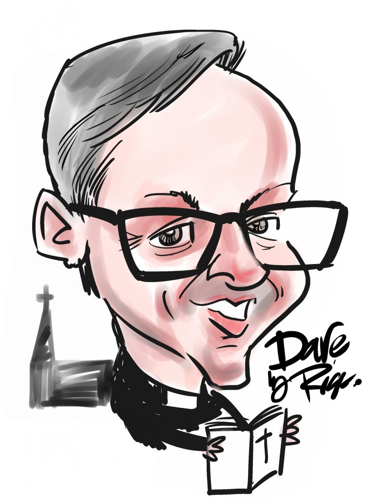 CARTOON - Rev Dave Bell